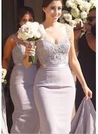 wedding dresses for of honor mermaid bridesmaid dresses lace beading straps bridal
