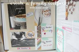 how to create a family cookbook with your kids momadvice