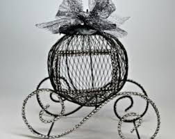 Cinderella Wire Carriage Centerpieces by Wire Cinderella Carriage White Wedding Centerpiece Princess