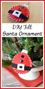 diy felt santa ornament jpg
