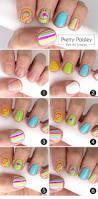 pretty paisley nail art tutorial more com