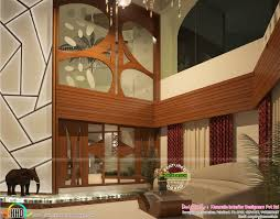 ultra modern home with interior design kerala home design and
