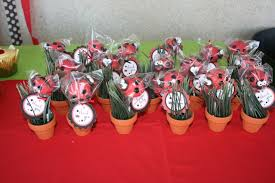 ladybug baby shower favors baby shower cookies candles gifts lady