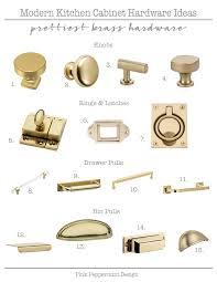best modern kitchen cabinet hardware modern kitchen cabinet hardware ideas my favorite brass