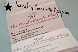 networking cards with vistaprint u2013 the foodie family blog
