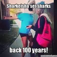 Sharkeisha Meme - fing it up for sharks