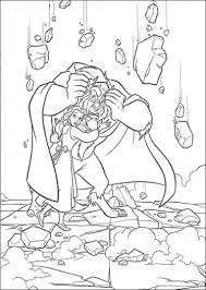 beauty beast colouring pages coloring pages