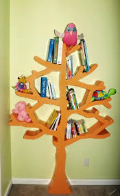 tree shaped bookshelf find a new way to be crazy in reading