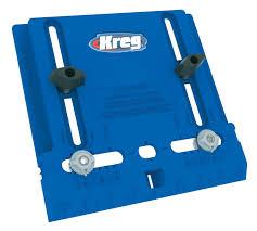 Sellers Kitchen Cabinet Parts Kreg Tool Company Khi Pull Cabinet Hardware Jig Amazon Com