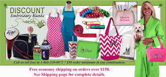 discount embroidery blanks machine embroidery