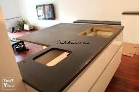béton ciré plan de travail cuisine castorama beton pour plan de travail cuisine faire un plan de travail en