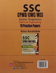 buy ssc cpwd cwc mes electrical engineering junior engineers