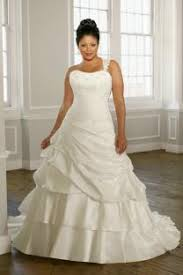 simple plus size wedding dress v neck ruching satin organza