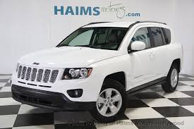 tan jeep compass 2017 used jeep compass latitude fwd at haims motors serving fort