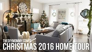 christmas decor for the home 2016 christmas home tour cozy country christmas decor youtube