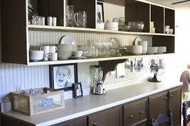 kitchen engaging modern kitchen shelves charming open shelving