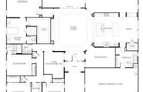 floorplan of a house one story bedroom house floor plans r on designing interior
