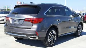 Acura Mcx New 2017 Acura Mdx Sh Awd With Advance Package Sport Utility In