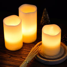aliexpress buy sdar real wax flameless colorful candles