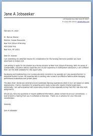 Sample Cover Letter For Nursing Resume by Sample Cover Letter For Nurse With Cover Letter For Rn My