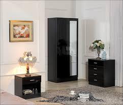 Mirrored Glass Nightstand Furniture Magnificent White And Mirrored Nightstand Mirrored
