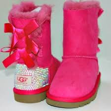 ugg sale after bailey bow uggs with swarovski by harriethazeldesigns back
