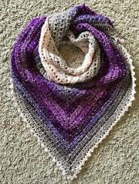 simple pattern crochet scarf simple gradient triangle shawl scarf lion brand shawl in a ball