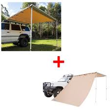 4wd Shade Awning Adventure Kings Awning 2 5x2 5m Adventure Kings Awning Side Wall