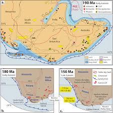 Pollen Map Jurassic