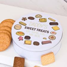 biscuit personalised treat tin the laser boutique