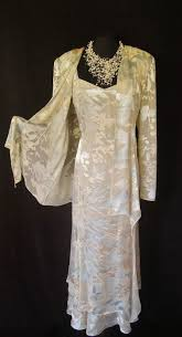 cattiva cream wedding size 16 dress and jacket suit ladies