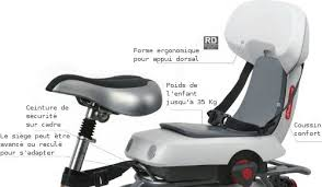 siege auto adulte guppy junior polisport siège transport enfant à vélo