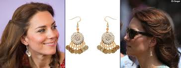 earrings accessorize tour india earring poll accessorize drop what kate wore