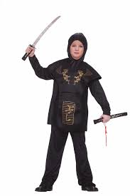 ninja halloween costume kids kids ninja boys costume 17 99 the costume land