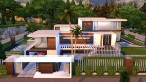 Design House La Home by The Sims 4 Villa Moderna Modern House L A Trailer Youtube