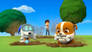 image rubble robo dog bones png paw patrol wiki