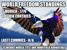 Murica Memes - world freedom standings clinched world title and homefield