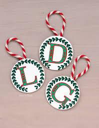 pitterandglink easy diy monogram ornament