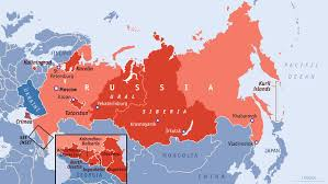Russia Time Zone Map by The Peril Beyond Putin The Peril Beyond Putin