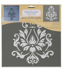 Brocade Home Decor by Americana Decor Stencil Brocade Motif Joann