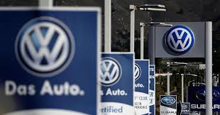 german volkswagen logo german state premier on defensive over close ties with vw