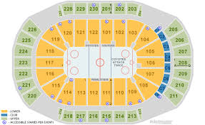 gila river arena glendale tickets schedule seating chart