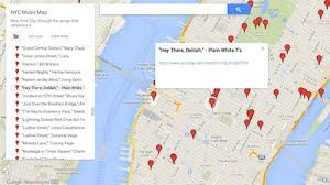 Times Square Map One Man Has Set Out To Map All The Song References To Nyc Curbed Ny