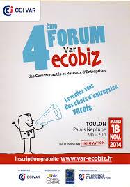 chambre commerce toulon toulon palais neptune 4ème forum var ecobiz organisé par la