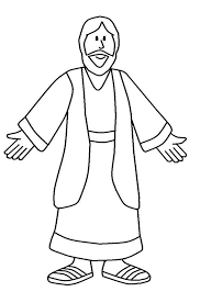 coloring printable pictures jesus concept