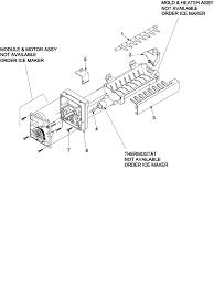 Sears Hydraulic Jack Parts by Jenn Air Refrigerator Parts Model Jcb2058geb Sears Partsdirect