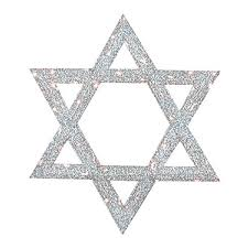 shop christmas central metal lighted star of david outdoor