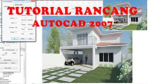 jual tutorial autocad bahasa indonesia jual tutorial rancangan 3d dgn auto cad 2007 video tutorial bhs