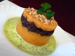 plat d automne cuisine recette parmentier d automne boudin jus de persil cuisinez