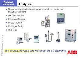 Abb Ag Instrumentation Solutions For Power Generation Ppt Download Worlds Best Ppt